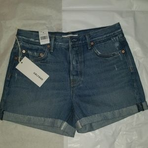 Grlfrnd denim shorts karlie